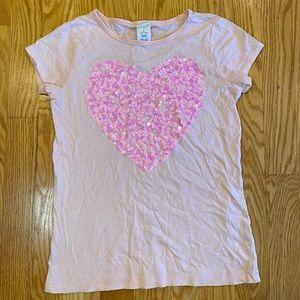 Crewcuts sequin t-shirt